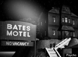 The Bates Motel, from Alfred Hitchcock's <em>Psycho</em>.