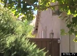 Police in Folsom, Calif., are investigating the discovery of a dead infant baby found in the backyard of this house.