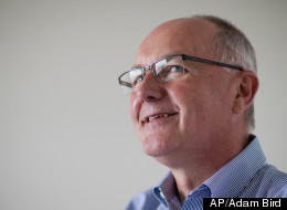 In this June 28, 2010 photo, then U.S. Rep. Pete Hoekstra is shown in Grand Rapids, Mich. On Aug. 7, 2012, Hoekstra won the Republican nomination for U.S. Senate, overcoming a challenge from two Republicans who questioned his record as a conservative. (AP Photo/Adam Bird)