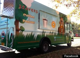 The Beavers Coffee & Donuts food truck.