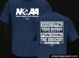 Intended for Penn State fans who think the NCAA's punishment was too severe, the shirt costs $17.99 at smackapparel.com.