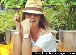 Daisy Fuentes se pone sexy en Twitter