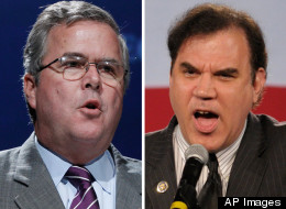 Former Florida Gov. Jeb Bush is objecting to Democrat Alan Grayson's involvement in the GOP primary in the 9th congressional district.