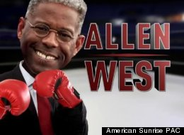 Rep. Allen West (R-Fla.) says a campaign ad depicting him punching white women is racist, but the NAACP disagrees.