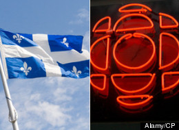 >Quebec's upstart sovereigntist party is taking the CBC and two other broadcasters to court over its exclusion from next week's leaders' debates. (Alamy/CP)