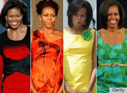 Michelle Obama y su clóset Technicolor - El estilo de la primera dama.