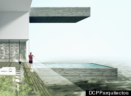 A rendering of the planned Sky Condos in Lima, Peru.