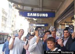 Facebook: Samsung