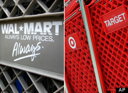 Target offered cheaper prices than Wal-Mart this month, according to new data.