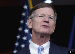 Rep. Lamar Smith (R-Texas) accused the Obama administration on Friday of distorting its deportation numbers. (AP Photo/Drew Angerer, File)