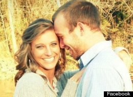 Nick Marlowe with his wife, Kristin, who passed away Aug. 8 giving birth to their son, Trennon.