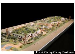 Frank Gehry's design for Facebook West