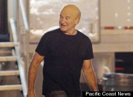 Oscar winning actor Robin Williams seen transformed into his character of former US President Dwight D. Eisenhower on the set of new film 'The Butler' in New Orleans, Louisiana. Photograph: ©PacificCoastNews.com