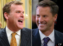 The prime minister's chief of staff Nigel Wright was on a call with Barrick Gold Corp. but he is not in a conflict of interest and did not use his position to further the financial interests of his friends, says Foreign Affairs Minister John Baird. (CP)