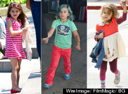 Suri Cruise, Kingston Rossdale y Honor Marie Warren.