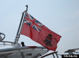 File photo of the ensign of the Cayman Islands (not to be confused with the photo taken by ABC News).