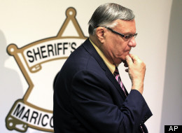 Maricopa County Sheriff Joe Arpaio faces a false arrest lawsuit as a result of a federal appeals court ruling. (AP Photo/Ross D. Franklin)