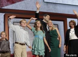 Paul Ryan et sa famille mercredi soir