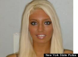 Alicia Guastaferro in her police mug shot.
