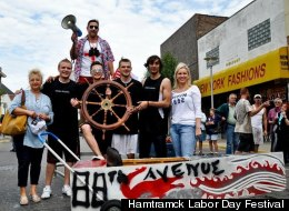 File Photo. A scene from a previous Hamtramck boat race featuring a