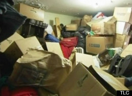 A man has five houses filled with stuff on the