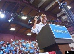 Barack Obama à Toledo, en Ohio  (AFP/Mandel Ngan)