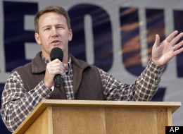 Ohio Secretary of State Jon Husted campaigning in 2010. (AP Photo/Jay LaPrete)