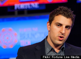 Airbnb CEO Brian Chesky said the home rental website got its big break at the 2008 Democratic National Convention in Denver.