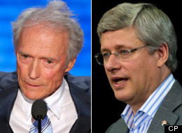 Rae likened Harper's attitude toward Canada's premiers to actor Clint Eastwood's much-lampooned address at the Republican convention last week, where Eastwood rambled on at length to an empty chair. (CP)