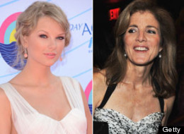 Taylor Swift and Caroline Kennedy.