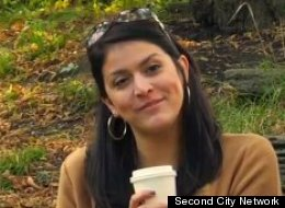 Cecily Strong in a sketch for Second City.