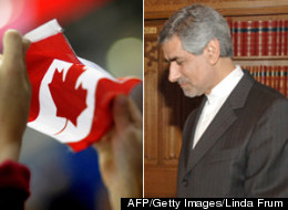 Until last Friday, Kambiz Sheikh-Hassani was the chargé d'affairs for the Iranian Embassy in Ottawa. He and 17 other diplomats were declared personae non gratae, meaning their credentials were revoked. (AFP/Getty Images/Linda Frum)
