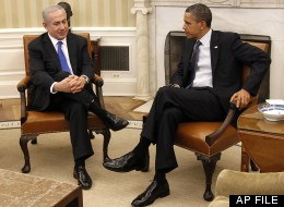 In this March 5, 2012 file photo, President Barack Obama meets with Israeli Prime Minister Benjamin Netanyahu in the Oval Office of the White House in Washington. (AP Photo/Pablo Martinez Monsivais, File)