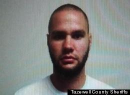 Dyllan Otto Naecher, 29, TMI, a fugitive sex offender, was arrested in Tazewall County, Va., after police found his whereabouts when his girlfriend