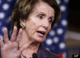 House Minority Leader Nancy Pelosi (D-Calif.) holds a news conference on Capitol Hill in Washington, Thursday. (AP Photo/J. Scott Applewhite)