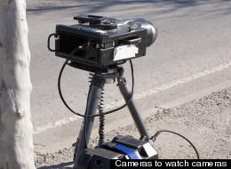 File Photo of speed camera.