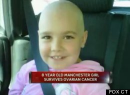 Natalie Cosman was diagnosed with ovarian cancer when she was 7 years old.