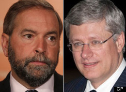Conservative MPs maintain that NDP Leader Tom Mulcair wants to introduce a carbon tax in Canada. Both the Conservatives and the NDP proposed a cap-and-trade system during the 2008 campaign — an idea the Tories have since abandoned. (CP)