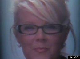 Tara Mauney, 41, has been charged with felony criminal mischief.