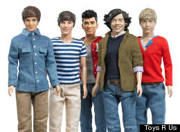 One Direction collector dolls by Hasbro.