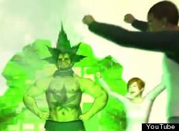 Screenshot from NMA's marijuana legalization animation video featuring pot superhero.