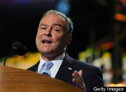 Tim Kaine, the former Democratic governor of Virginia, is running for U.S. Senate against Republican George Allen in 2012. (Photo by Joe Raedle/Getty Images)