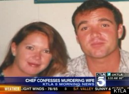 David Viens (L), 49, is accused of murdering his 39-year-old wife, Dawn (R), and boiling her body for four days.