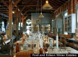 Ford and Edison Winter Estates