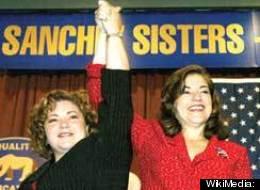 Reps. Linda Sanchez (left) and Loretta Sanchez