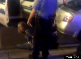 A video depicting a woman's arrest, allegedly that of a Cook County prosecutor.