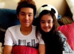 24 Year-Old Chinese Popstar Dating A 12 Year-Old Model