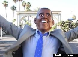Nathan Barnatt dances as