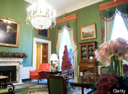 Lo que se ve adentro de la Casa Blanca.