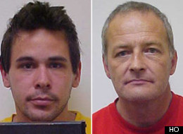 Police believe the body to be that of 31-year-old Wayne Alan Cunningham (left), who faced charges of sexual assault and forcible confinement after a boy alleged he was held captive by two men at a home last month.